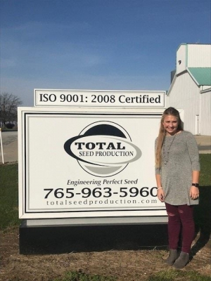 Total Seed Production Welcomes First Intern